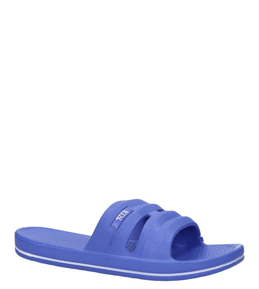 Niebieskie klapki basenowe Casu 810