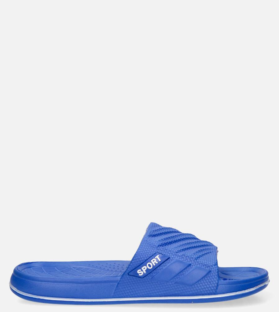 Niebieskie klapki basenowe Casu 8901A niebieski