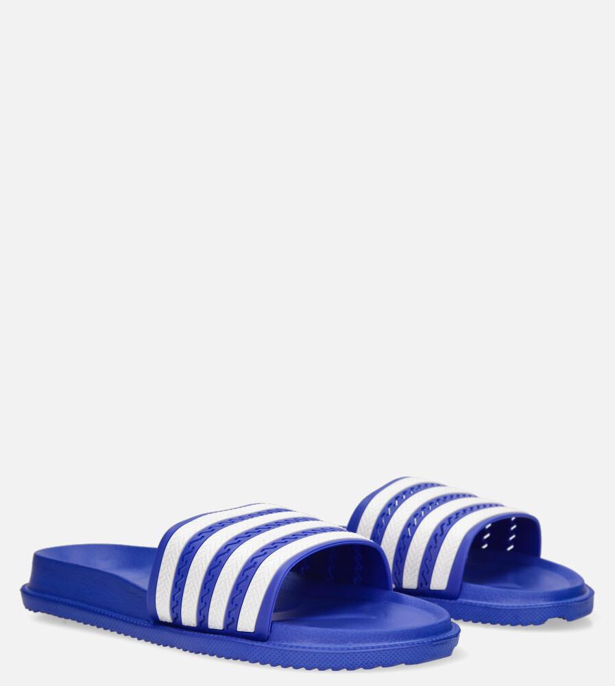Niebieskie klapki basenowe Casu 8912A niebieski