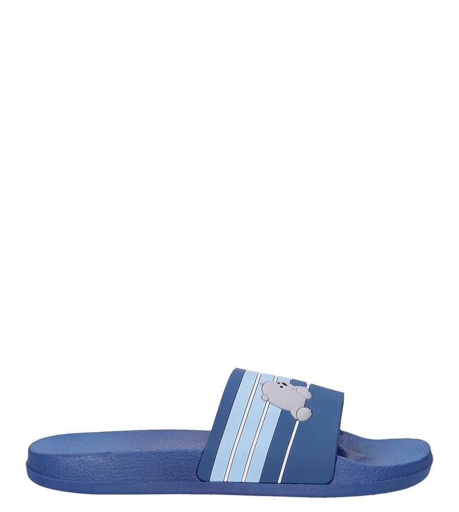 Niebieskie klapki basenowe miś Casu YR-3057