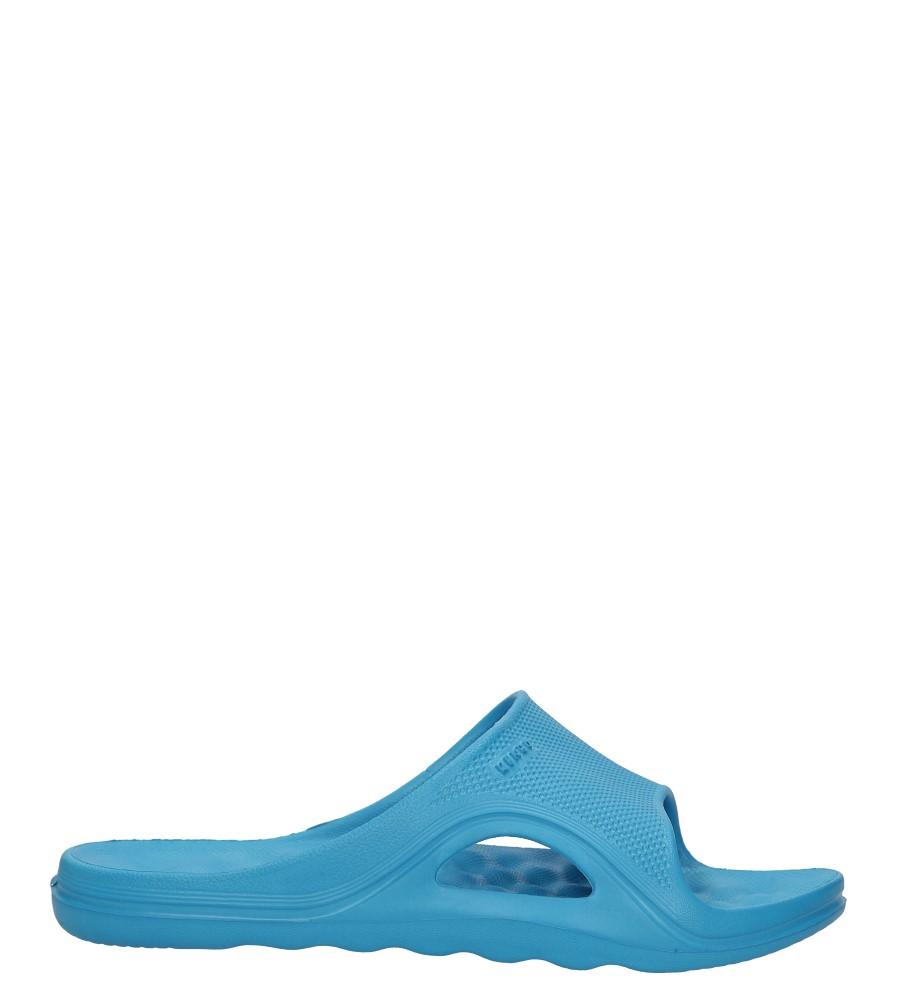 Niebieskie klapki Casu 1702W