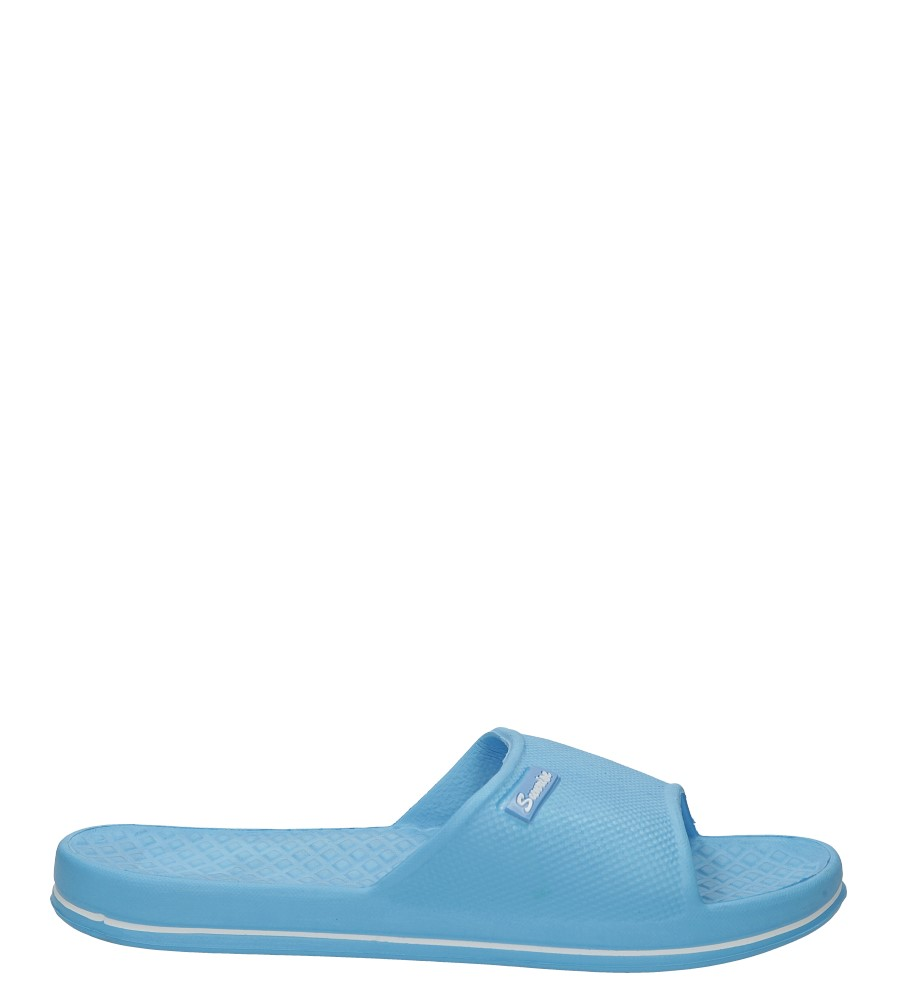 Niebieskie klapki Casu 988