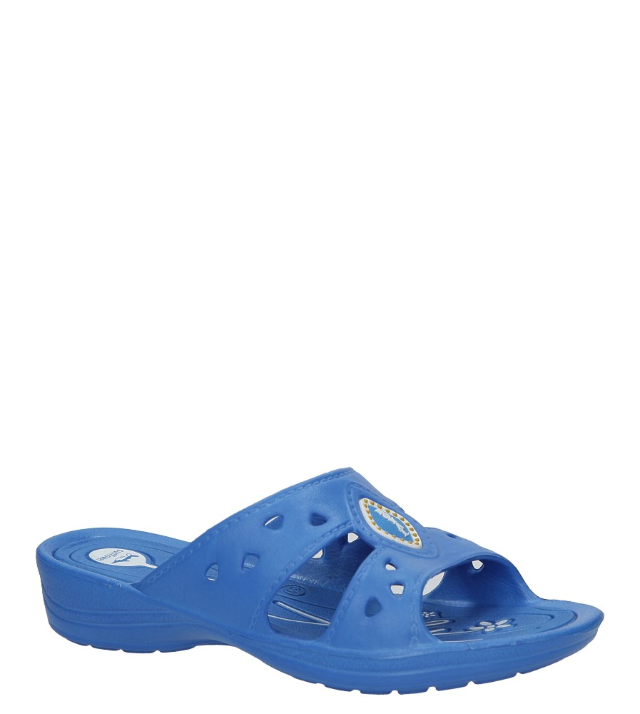 Niebieskie klapki Casu YL690B