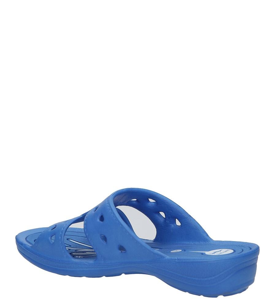 Niebieskie klapki Casu YL690B kolor niebieski