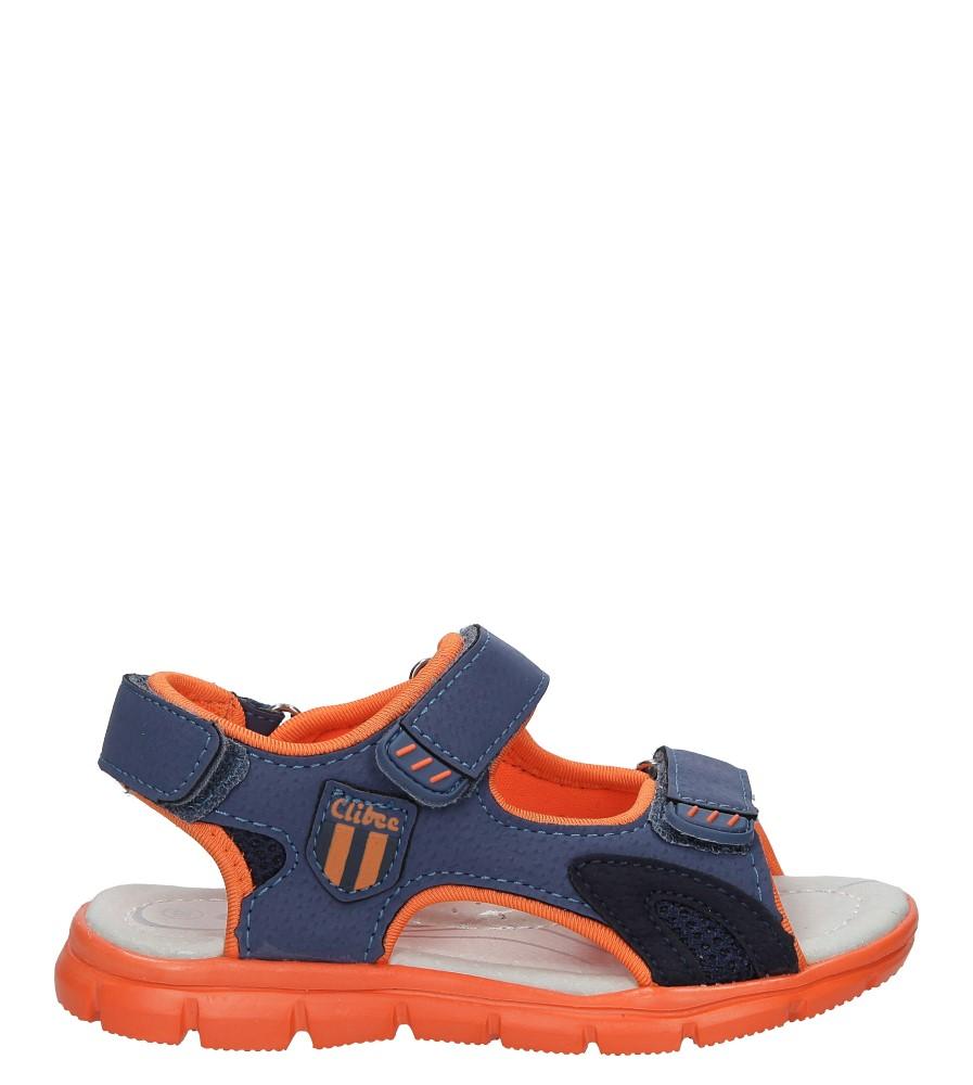 Niebieskie sandały na rzep Casu Z-317