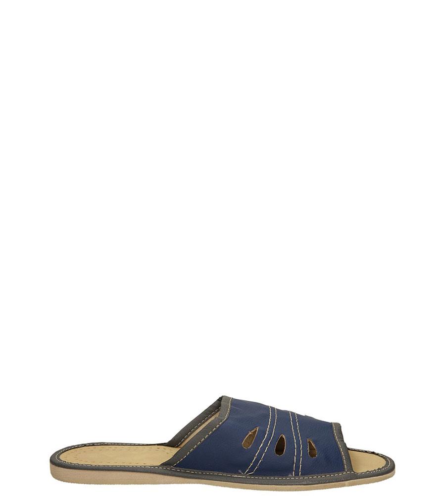 Męskie OBUWIE CASU DOMOWE M-02 niebieski;;