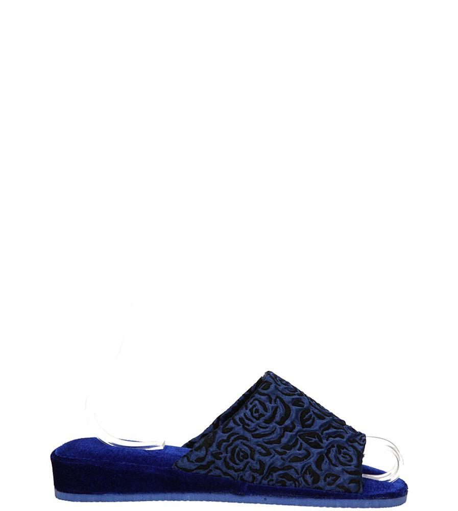 Damskie OBUWIE CASU DOMOWE QD-8 ( niebieski;;