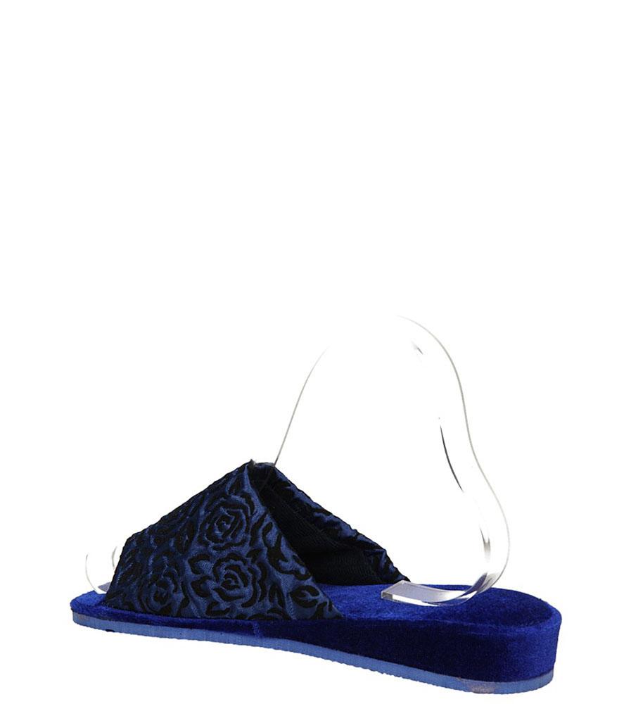 OBUWIE CASU DOMOWE QD-8 ( kolor ciemny niebieski