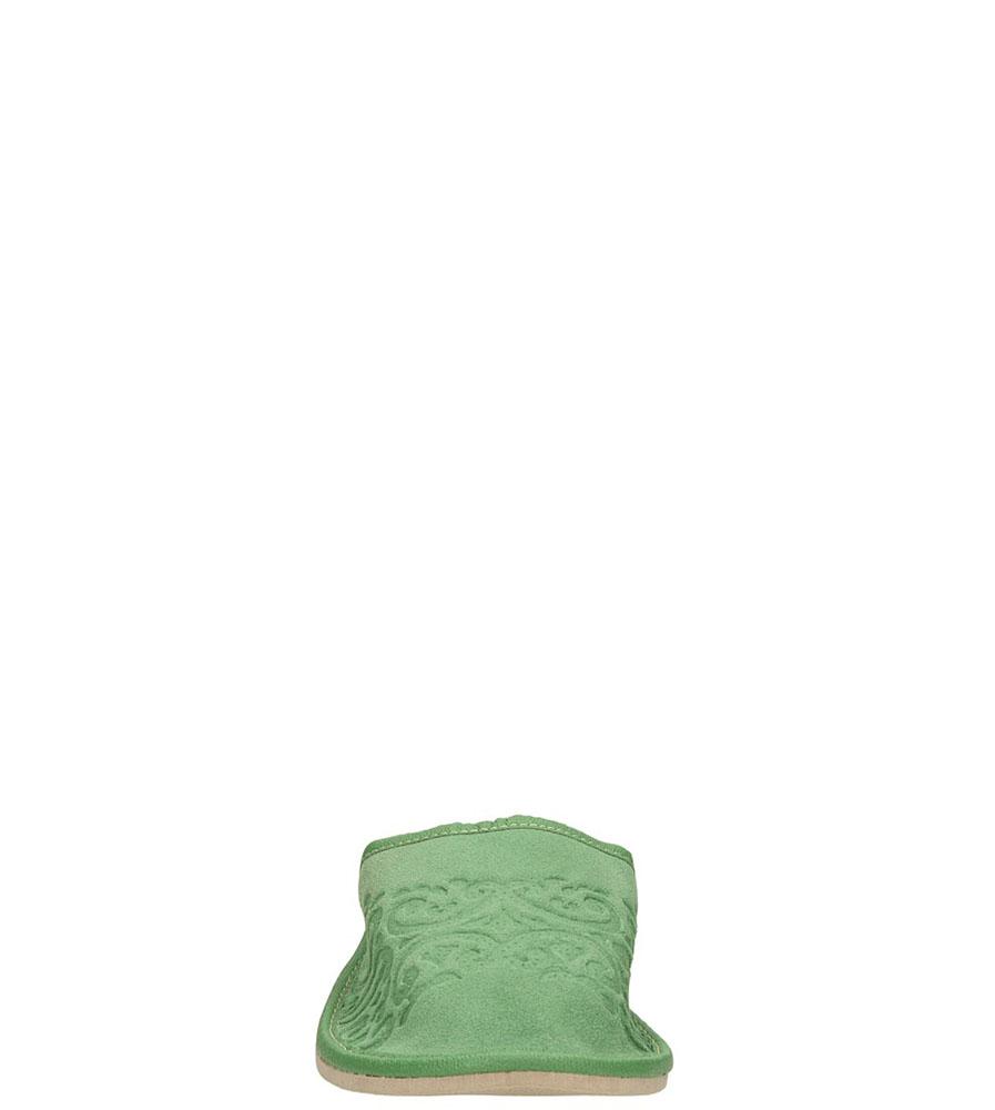 OBUWIE CASU DOMOWE WZ30 kolor zielony