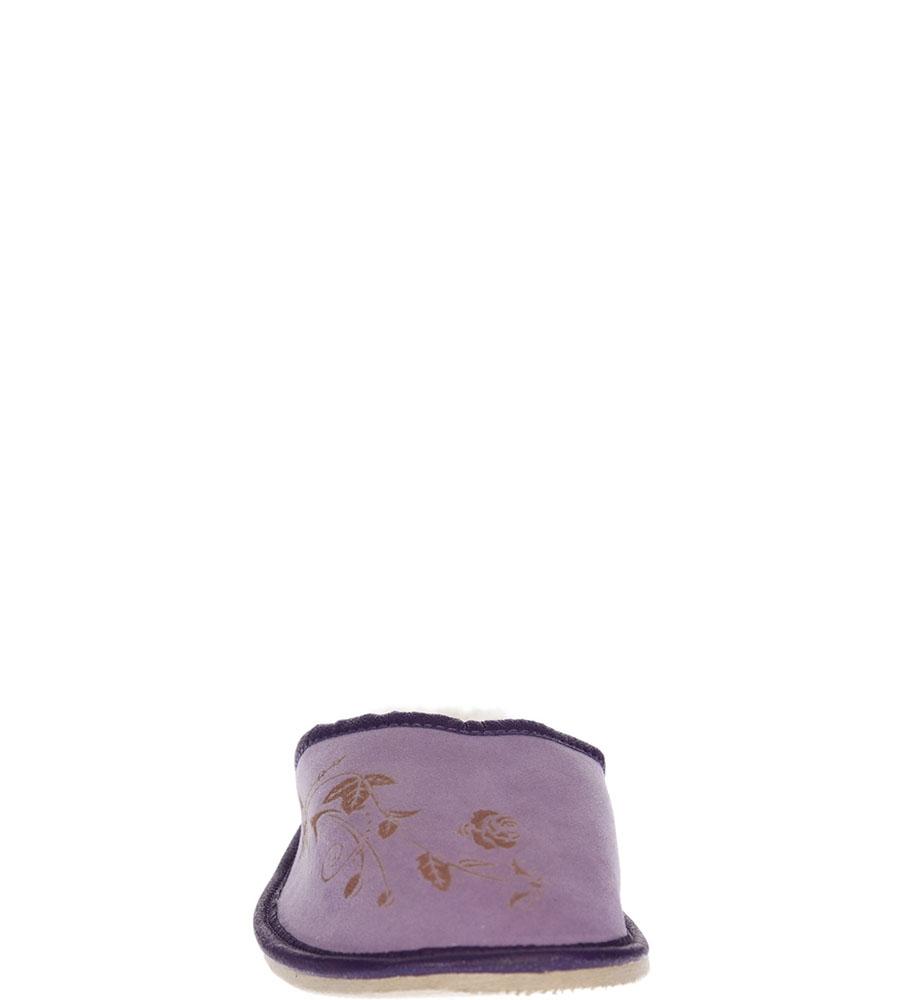OBUWIE CASU DOMOWE WZ43 kolor fioletowy