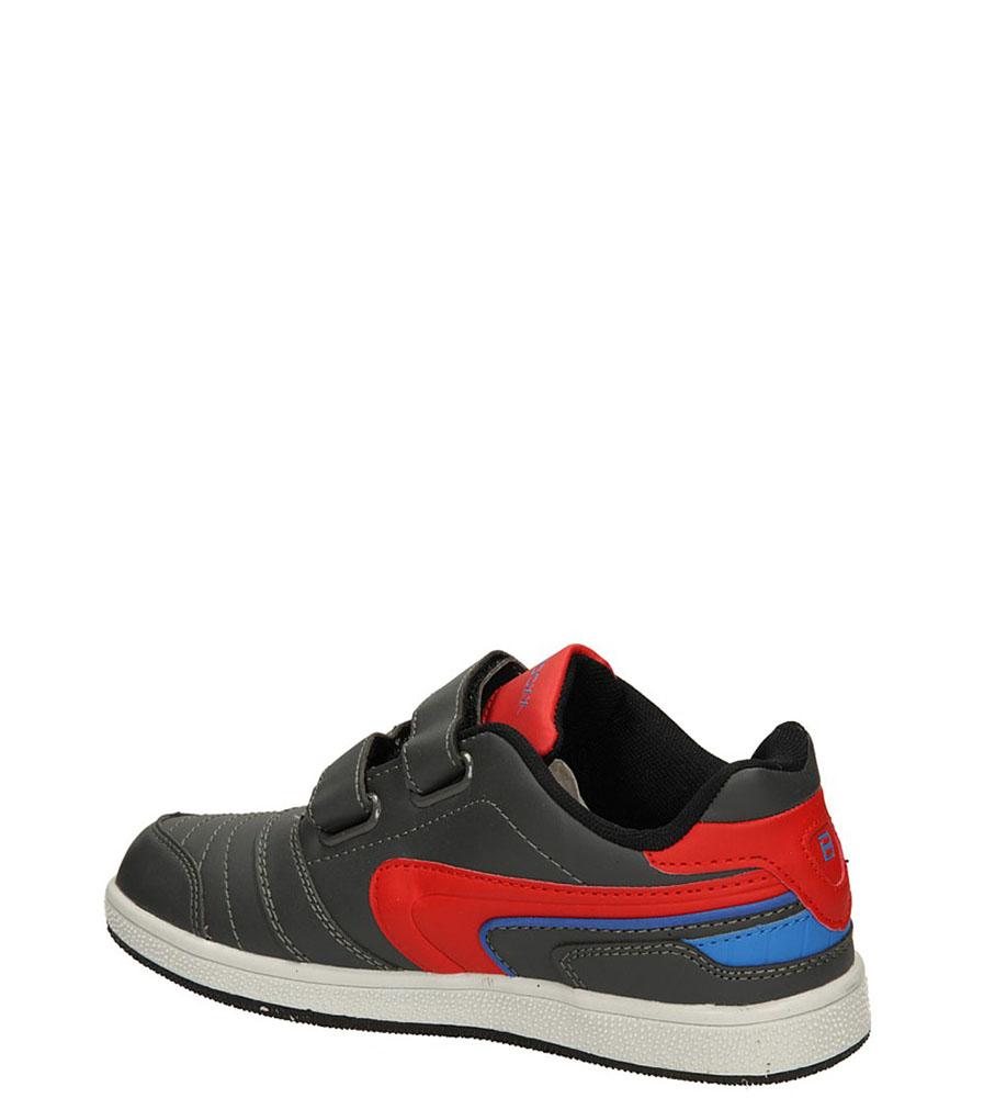 PÓŁBUTY 3XC6200 kolor ciemny szary, czerwony, niebieski