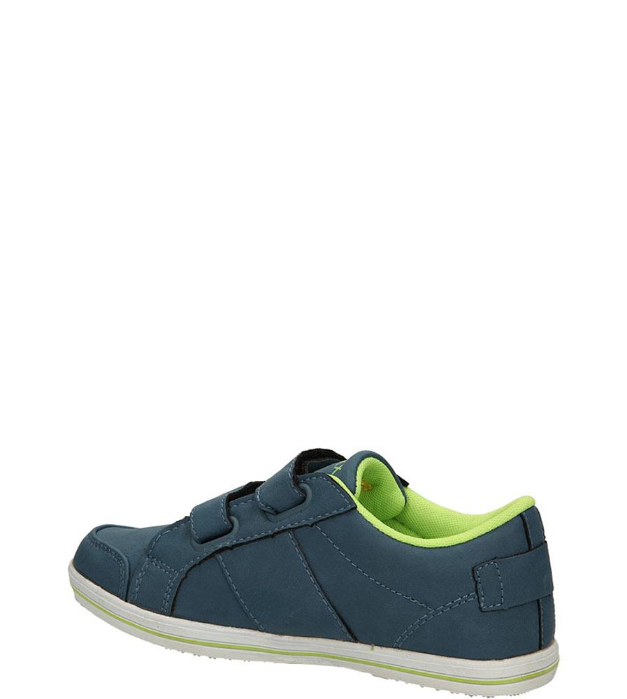 PÓŁBUTY 5XC6330 kolor ciemny niebieski, jasny zielony