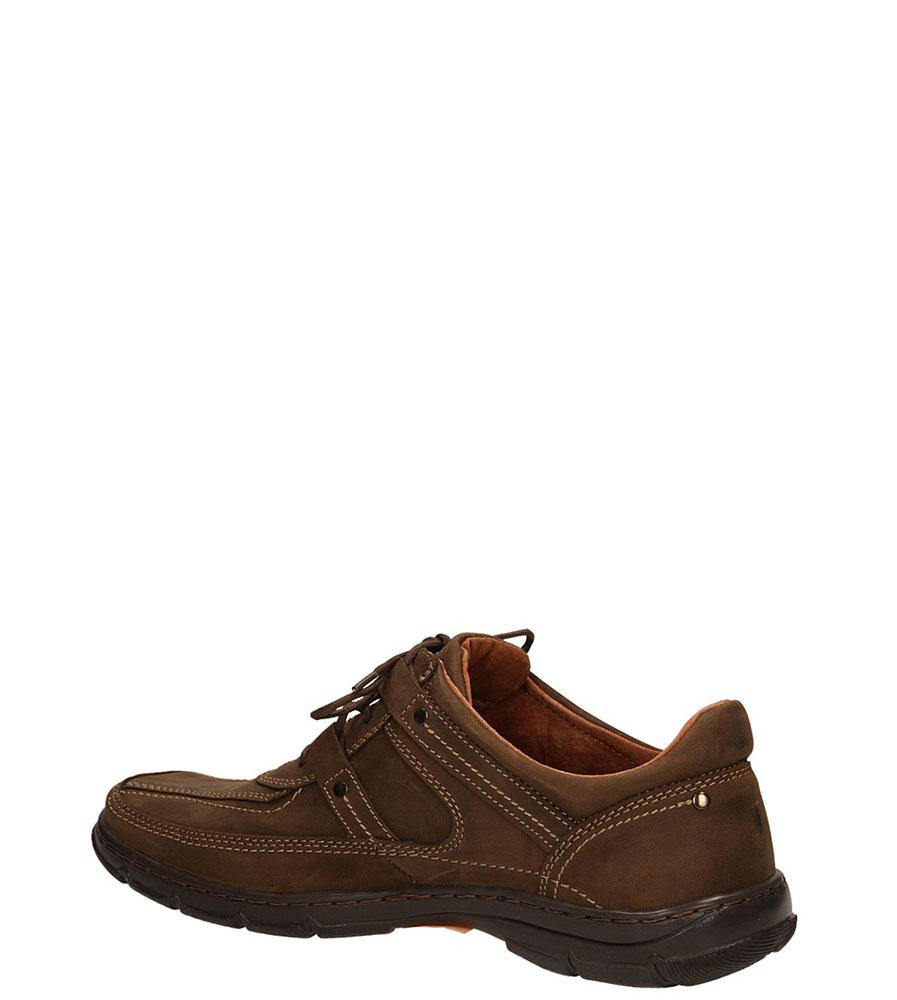 PÓŁBUTY CASU 1064 kolor brązowy