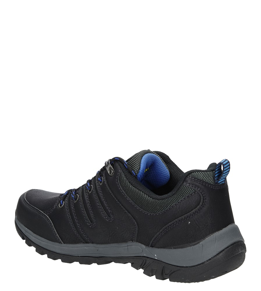 Półbuty Casu MXC7359 kolor czarny