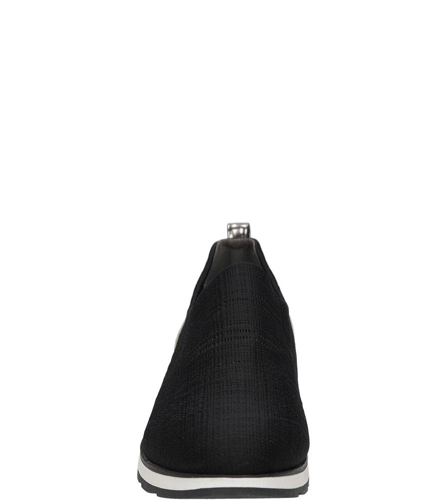 Półbuty wsuwane Marco Tozzi 2-24711-38 kolor czarny