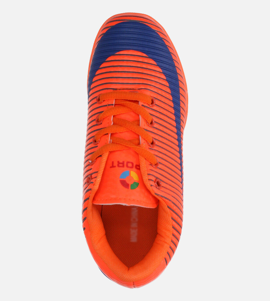 Pomarańczowe buty sportowe orliki sznurowane Casu 20M2/M wys_calkowita_buta 10 cm
