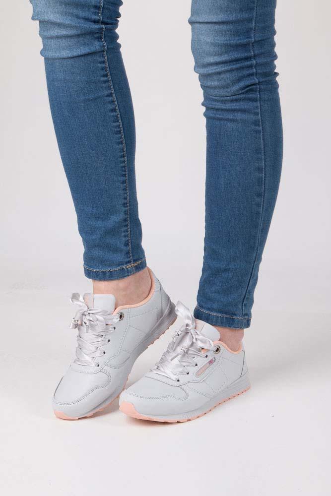 Popielate buty sportowe Casu LXC7521