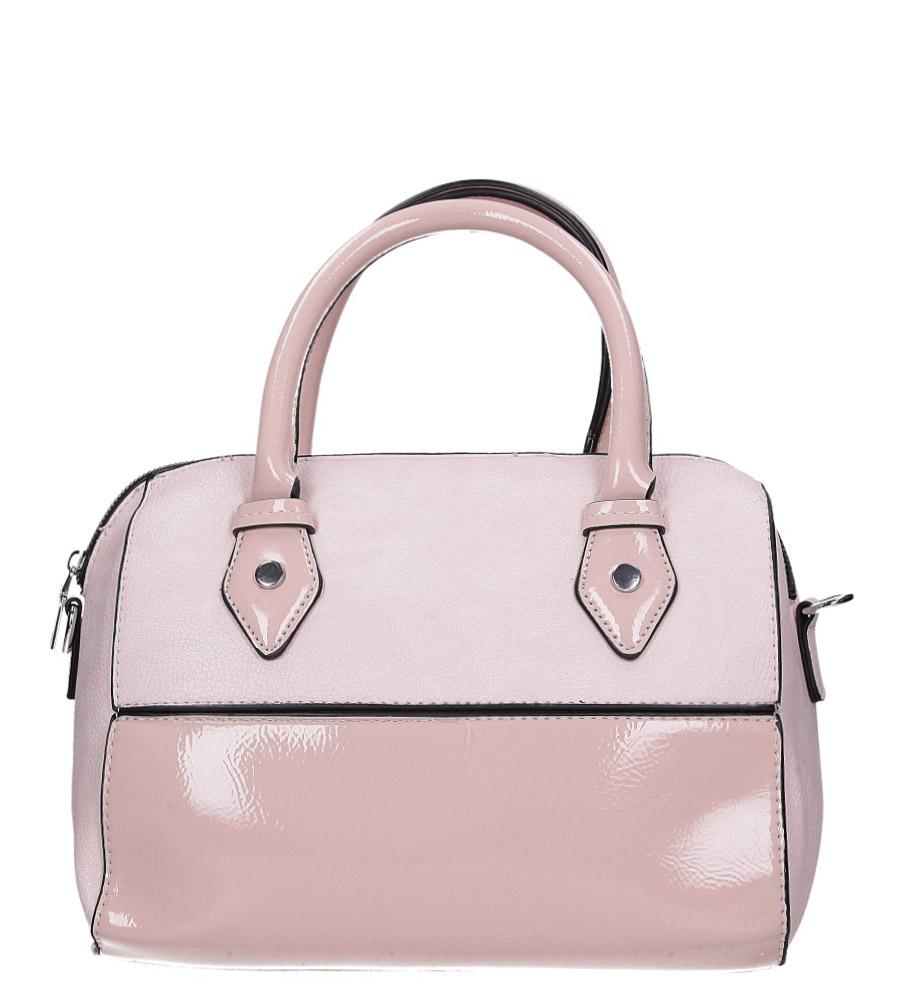 Różowa torebka Casu AD-44
