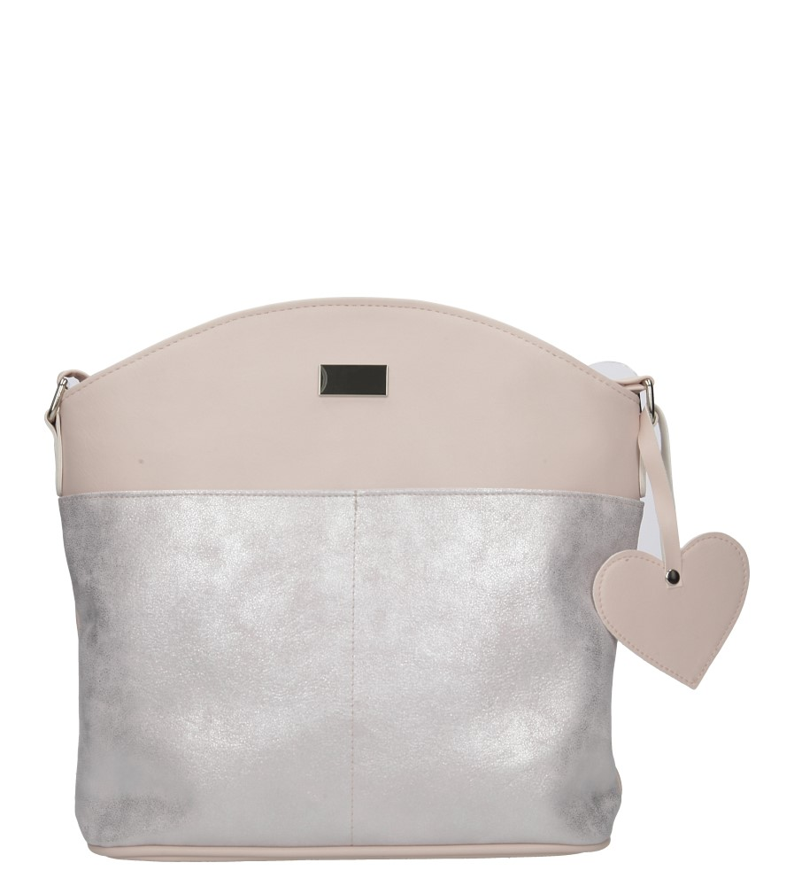 Różowa torebka listonoszka Casu H30