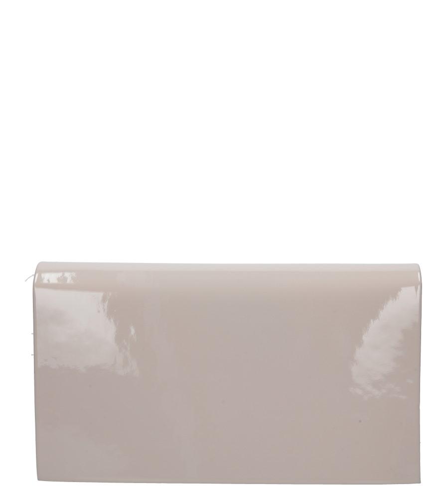 Różowa torebka wizytowa lakierowana Casu M01C