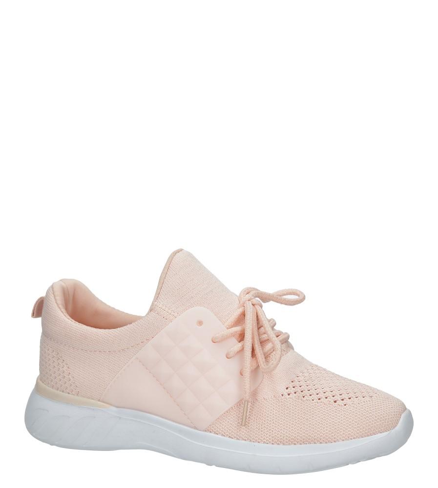Różowe buty sportowe Casu C928-38