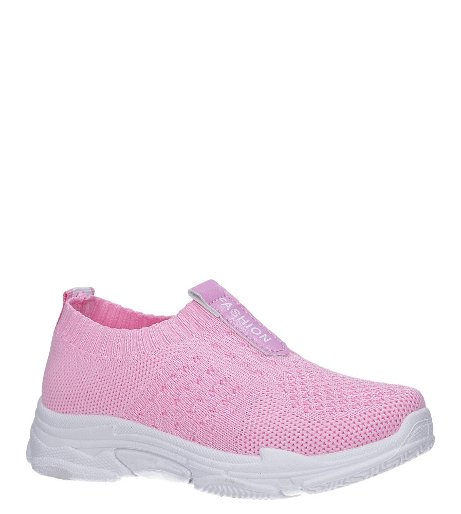 Różowe buty sportowe Casu TZ2080