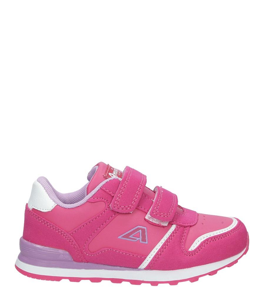 Różowe buty sportowe na rzepy American 13 model 13
