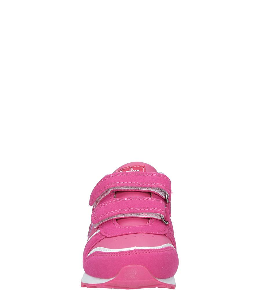 Różowe buty sportowe na rzepy American 13 sezon Całoroczny