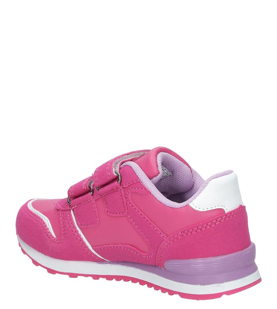 Różowe buty sportowe na rzepy American 13 kolor różowy