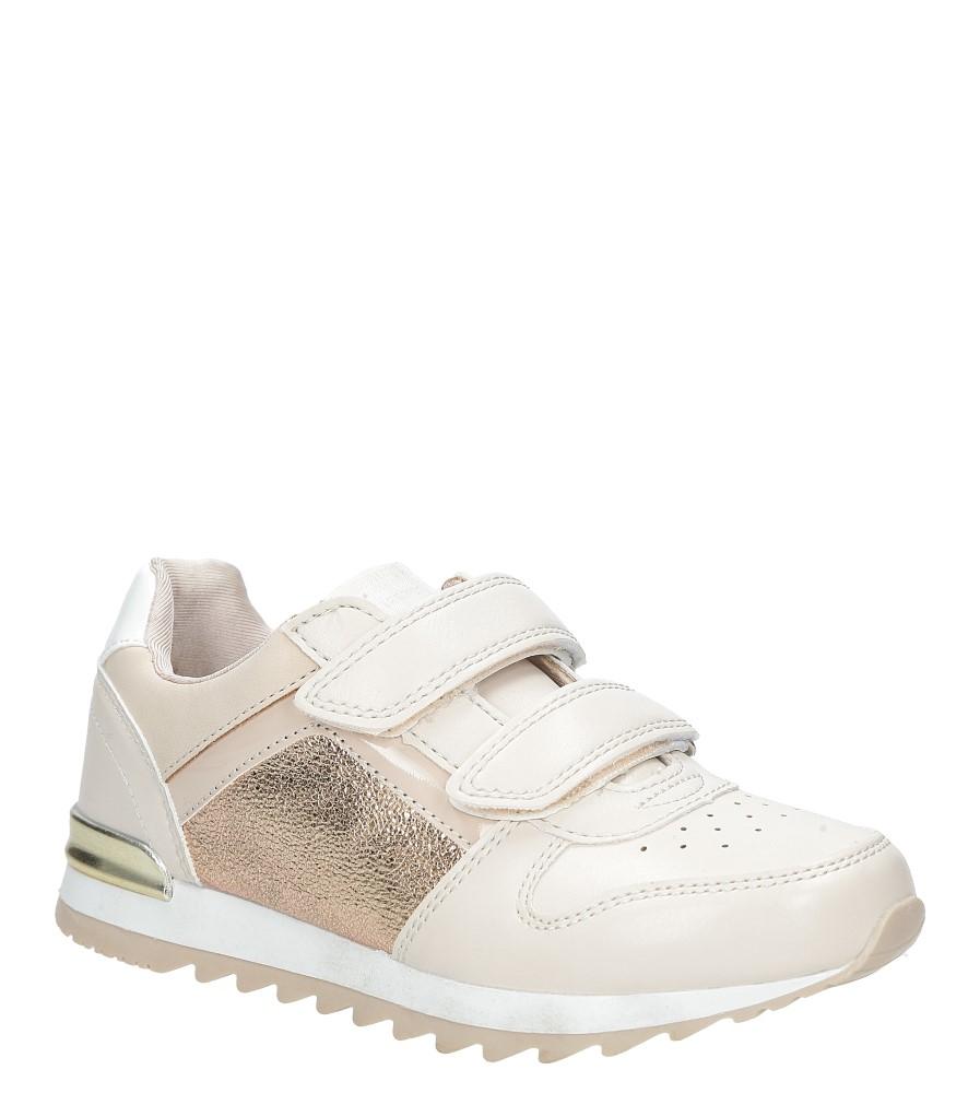 Różowe buty sportowe na rzepy  American K17362  producent American
