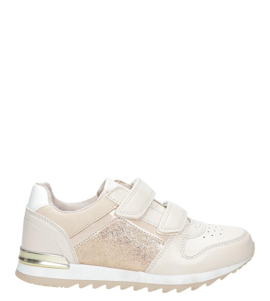 Różowe buty sportowe na rzepy  American K17362