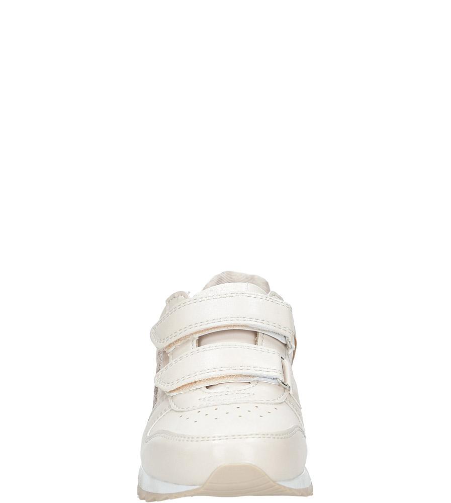Różowe buty sportowe na rzepy  American K17362  sezon Całoroczny