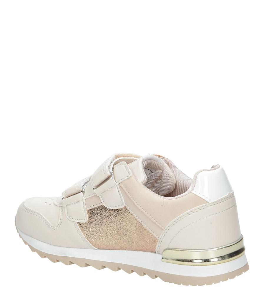 Różowe buty sportowe na rzepy  American K17362  kolor różowy
