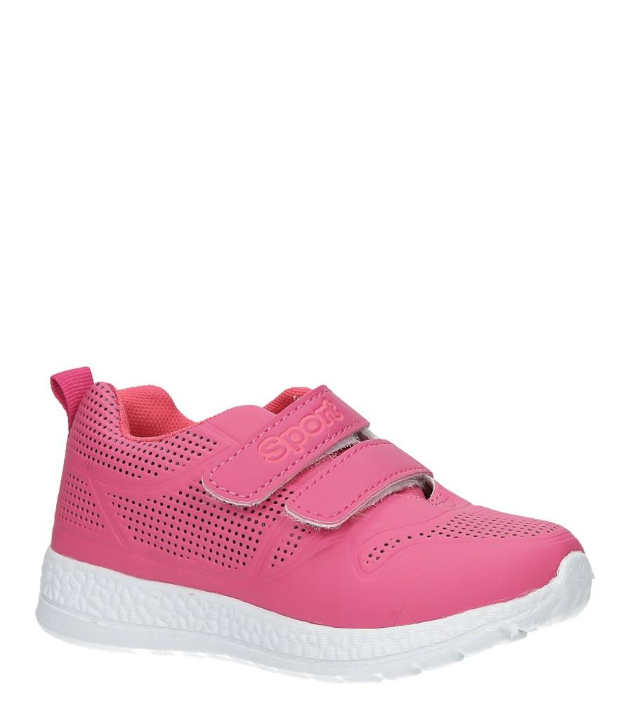 Różowe buty sportowe na rzepy Casu A2803-22 różowy