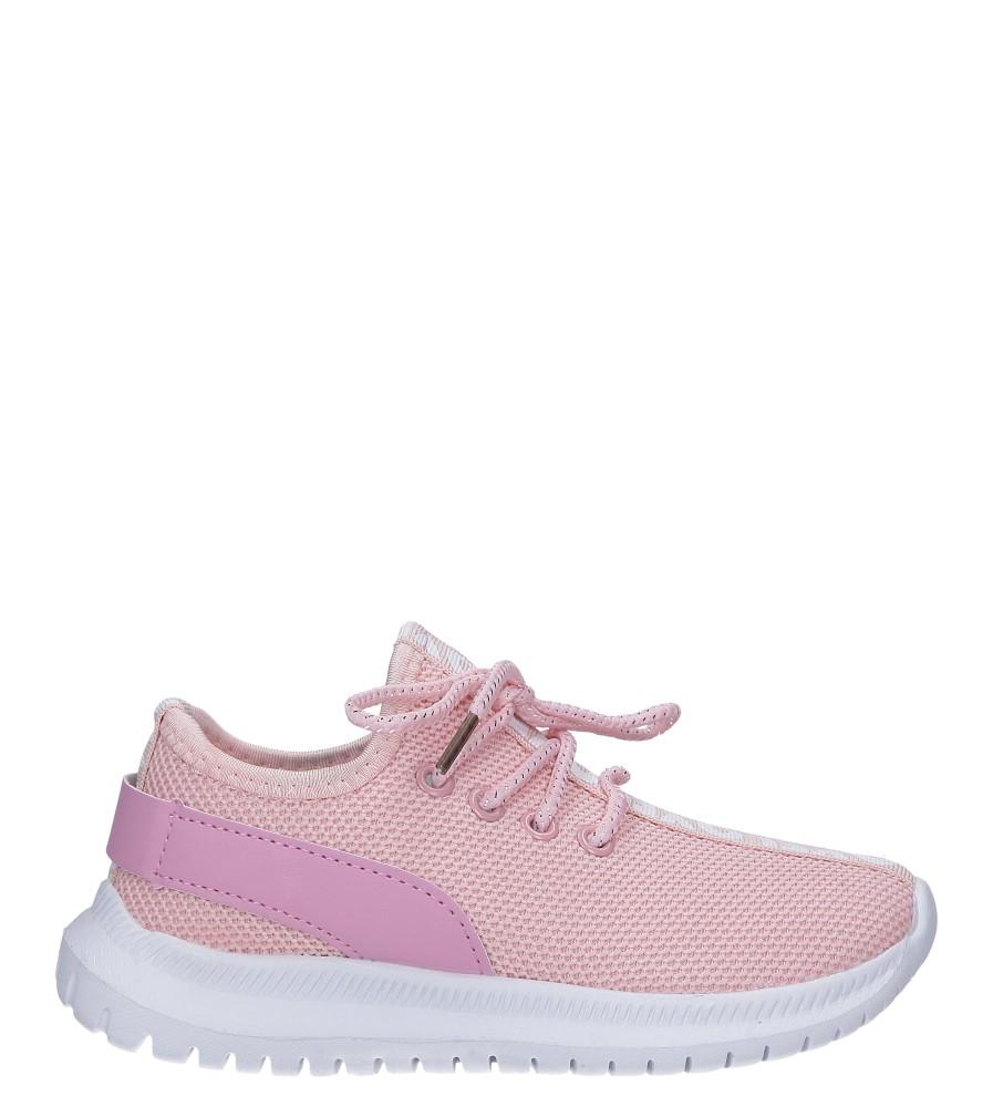 Różowe buty sportowe sznurowane Casu C-10