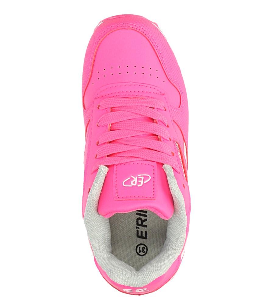 Różowe buty sportowe sznurowane Casu FA353 kolor różowy