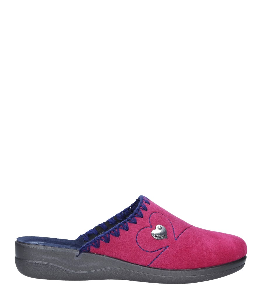 Różowe kapcie Inblu CF000018