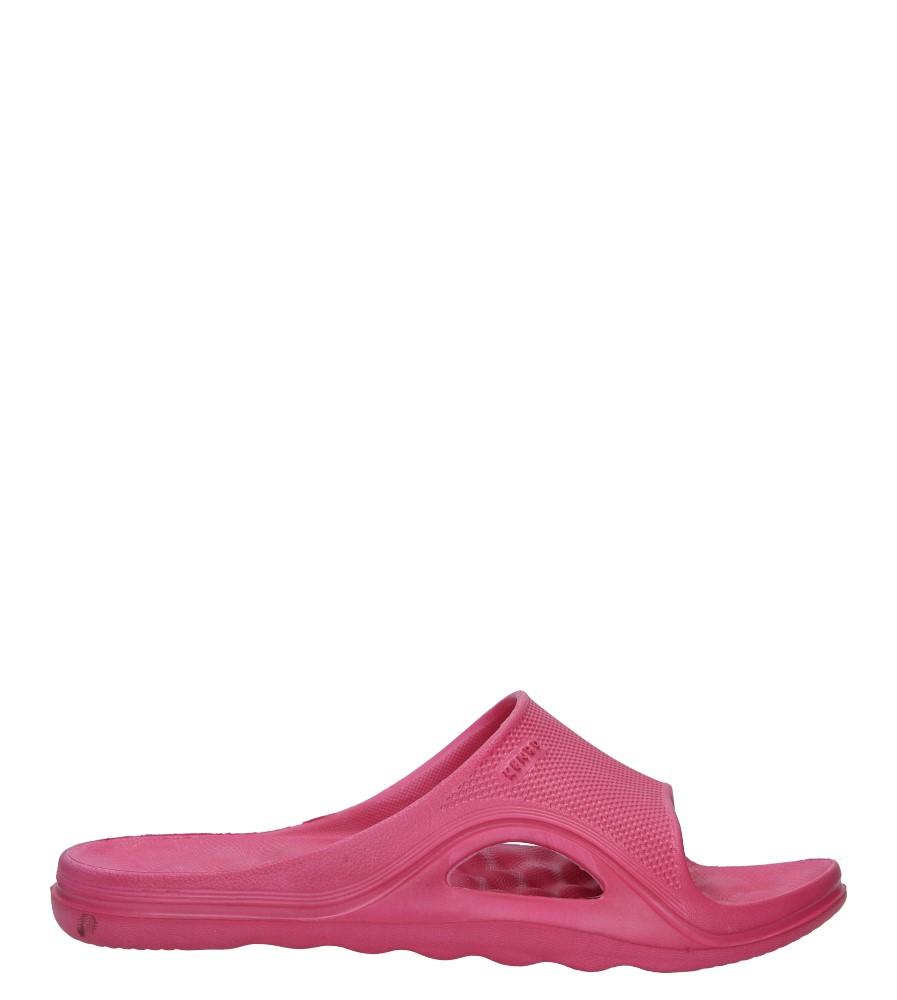 Różowe klapki Casu 1702W