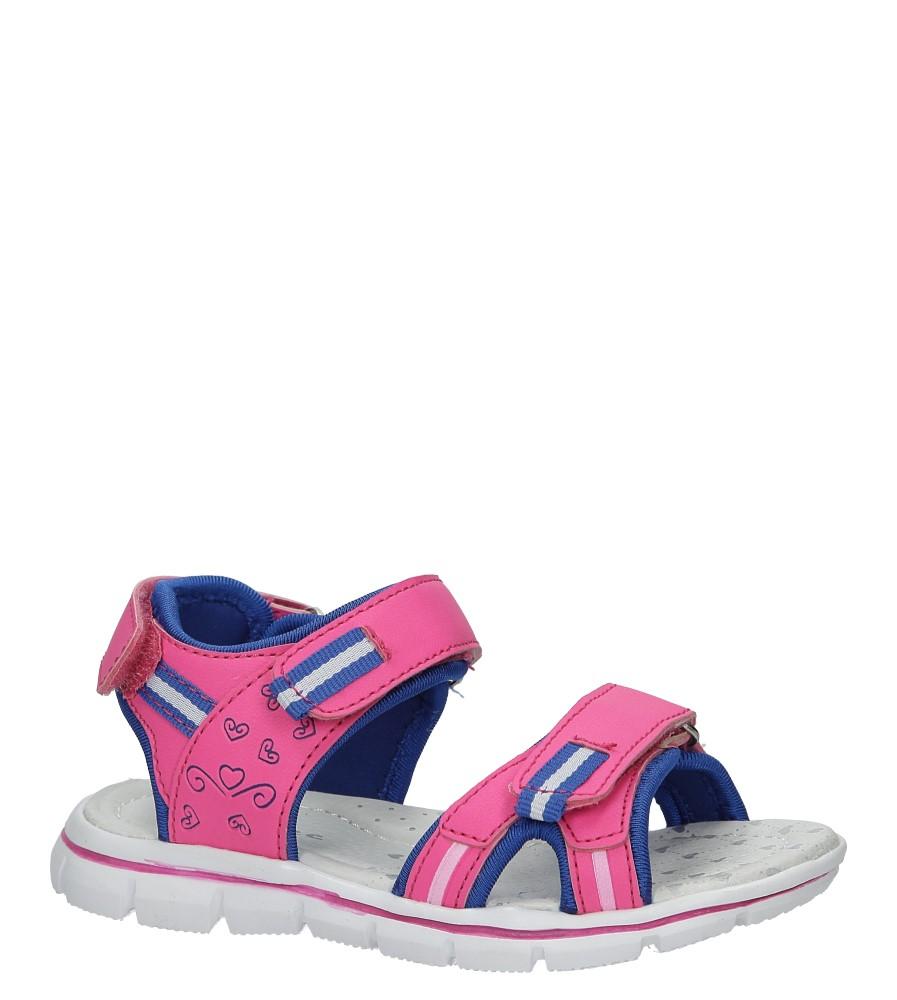 Różowe sandały na rzep Casu Z-322 producent Casu