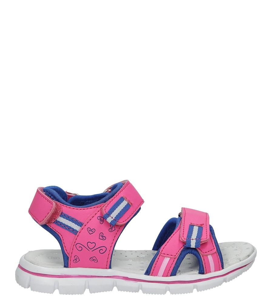 Różowe sandały na rzep Casu Z-322 model Z-322