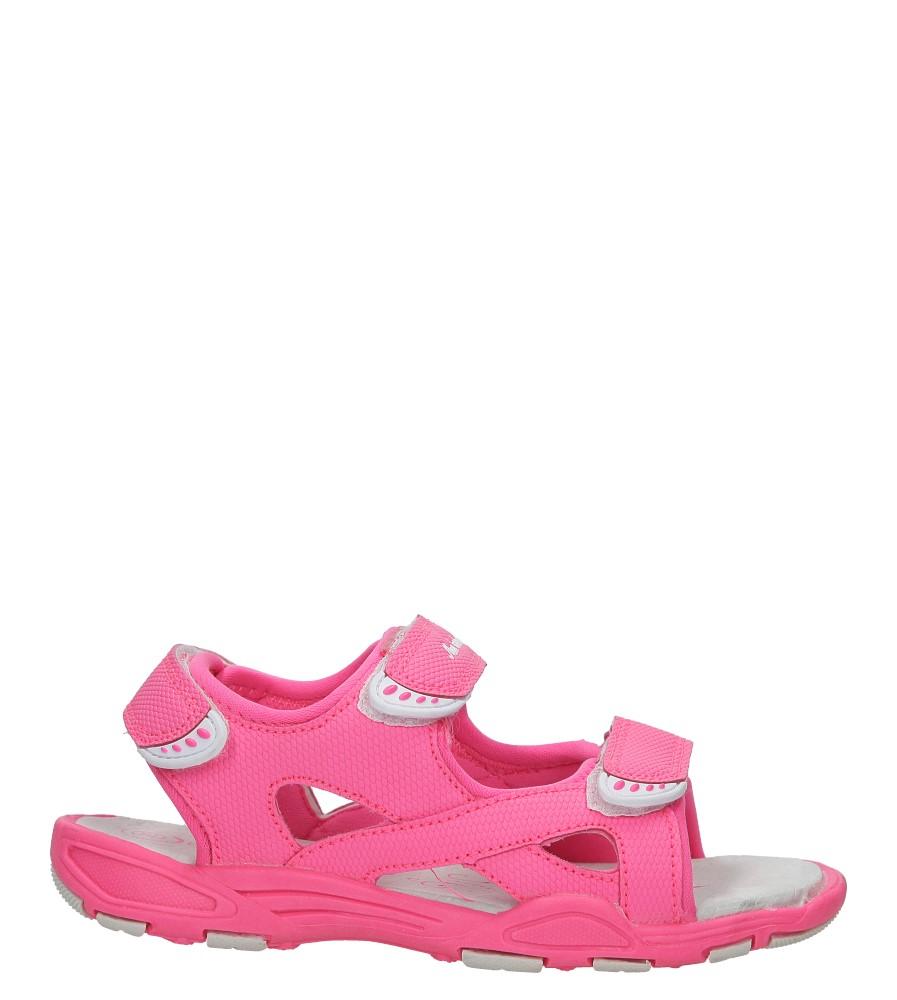 Różowe sandały na rzepy Casu TA54
