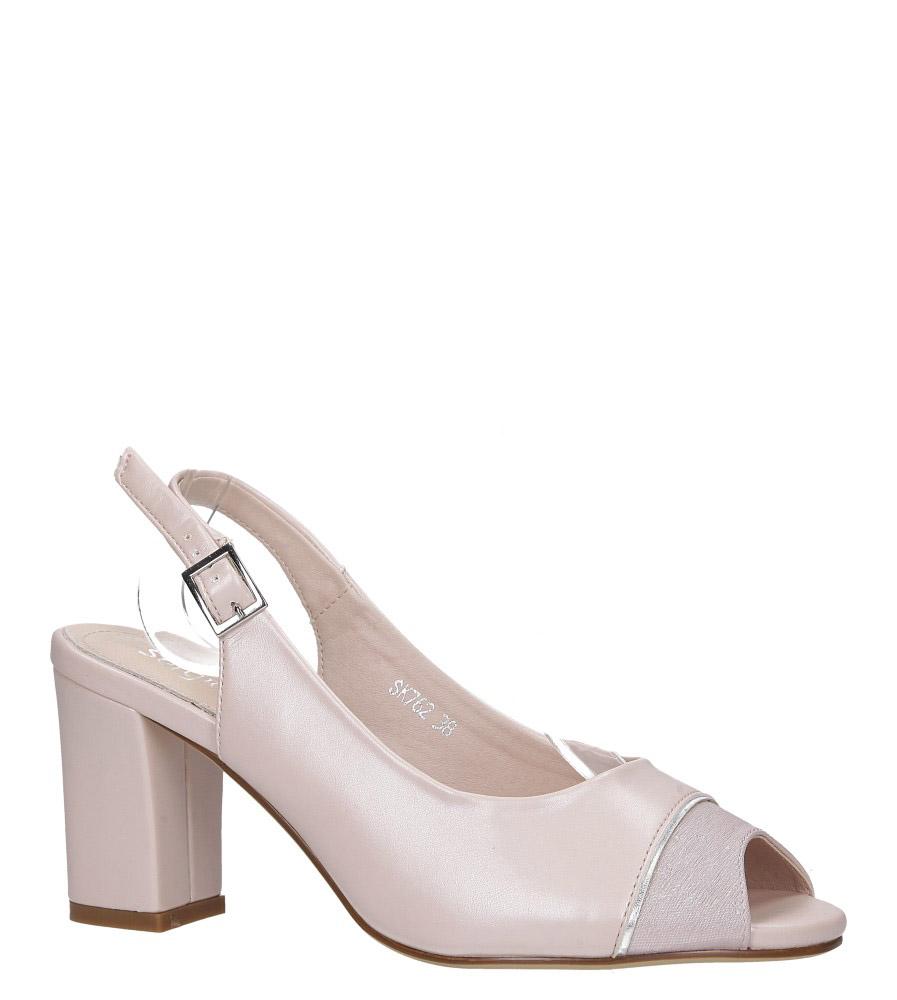 Sergio Leone Eleganckie Sandały Open Toe różowe