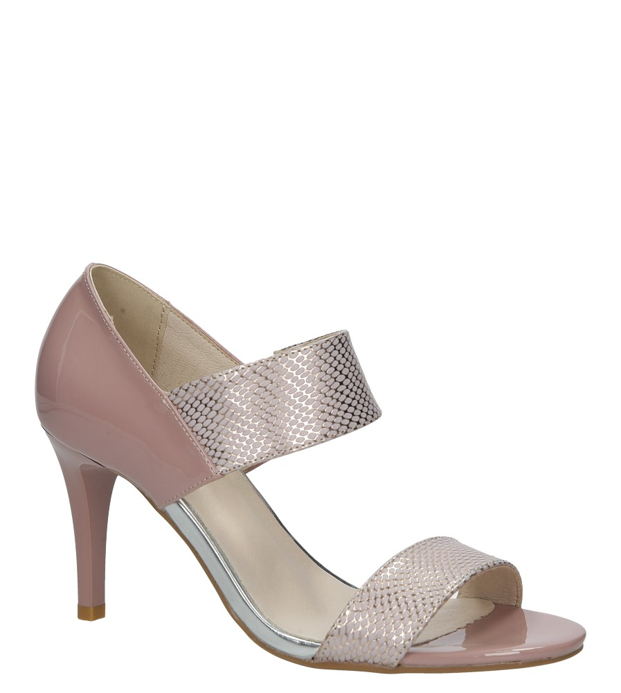 Różowe sandały szpilki Jezzi SA124-3