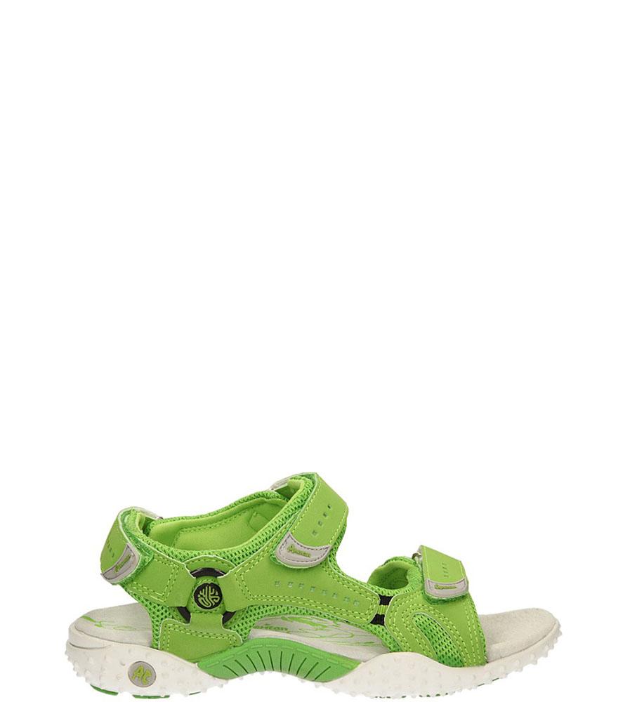 Damskie SANDAŁY AMERICAN SL12043-1 zielony;;
