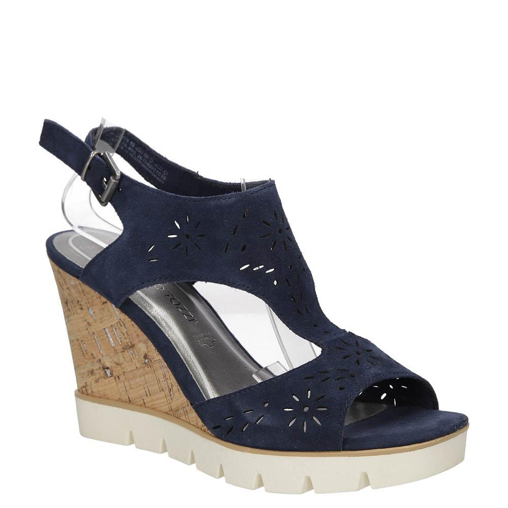 Sandały ażurowe Marco Tozzi 2-28354-28 style Ażurowy