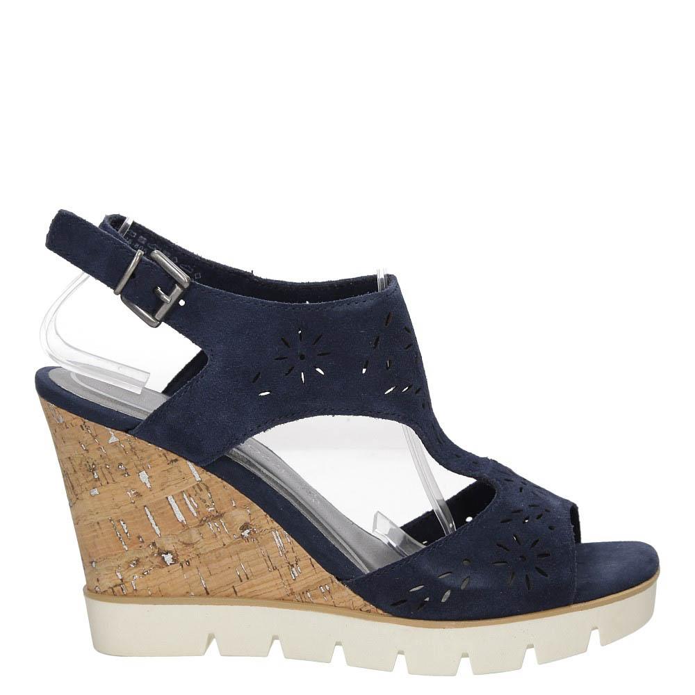 Sandały ażurowe Marco Tozzi 2-28354-28 wysokosc_obcasa 10.5 cm
