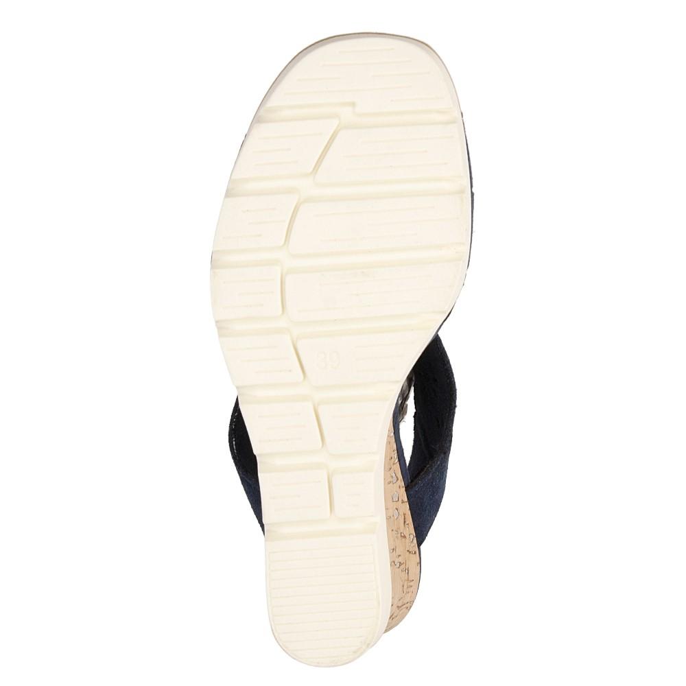 Sandały ażurowe Marco Tozzi 2-28354-28 wnetrze materiał