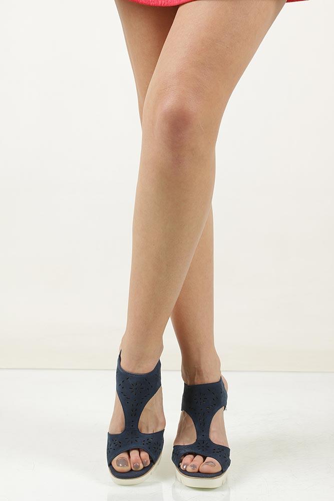Sandały ażurowe Marco Tozzi 2-28354-28 wkladka materiał/skóra ekologiczna