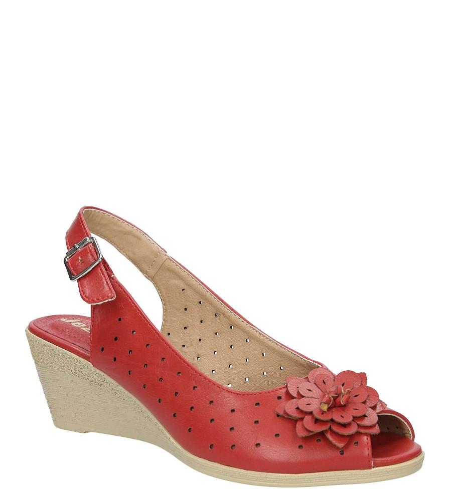 Sandały ażurowe na koturnie Jezzi MR1638-2