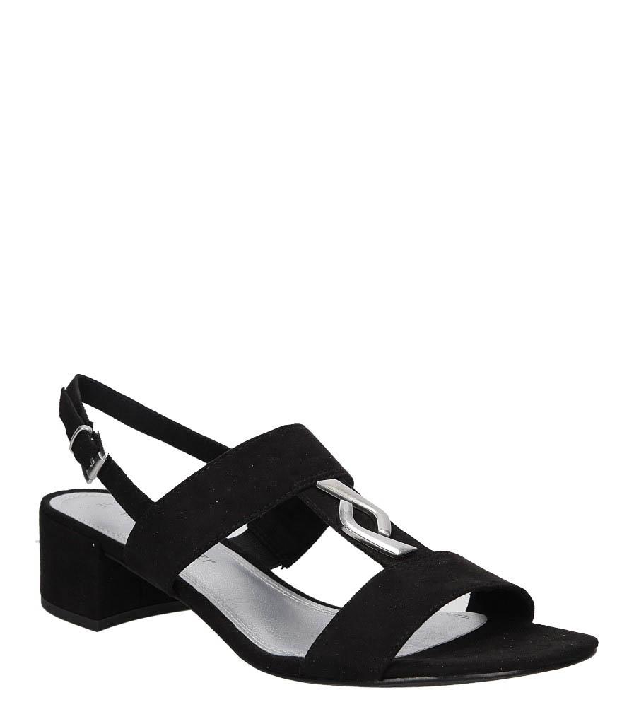 Sandały czarne Marco Tozzi 2-28200-28